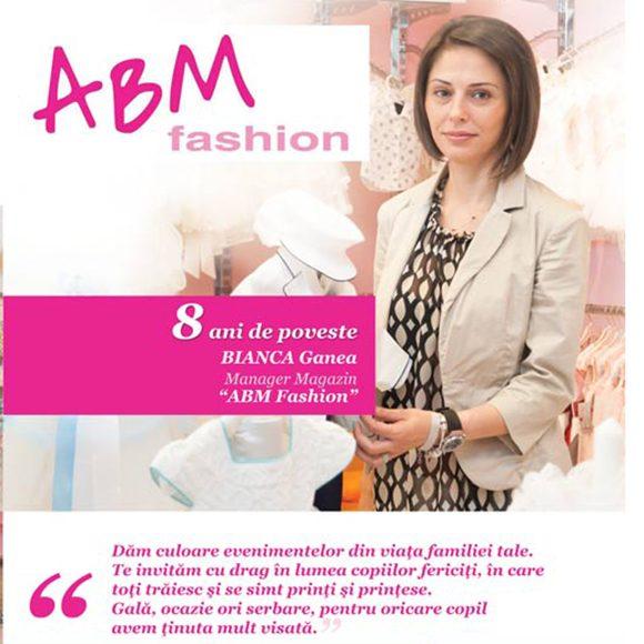 "Povestea din spatele vitrimei ""ABM Fashion"""