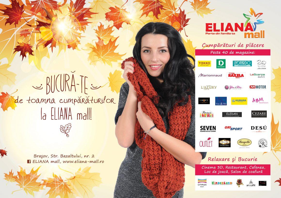 Bucura-te de toamna cumparaturilor la Eliana Mall