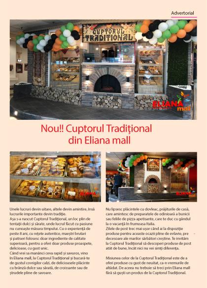Cuptorul Tradițional din Eliana Mall